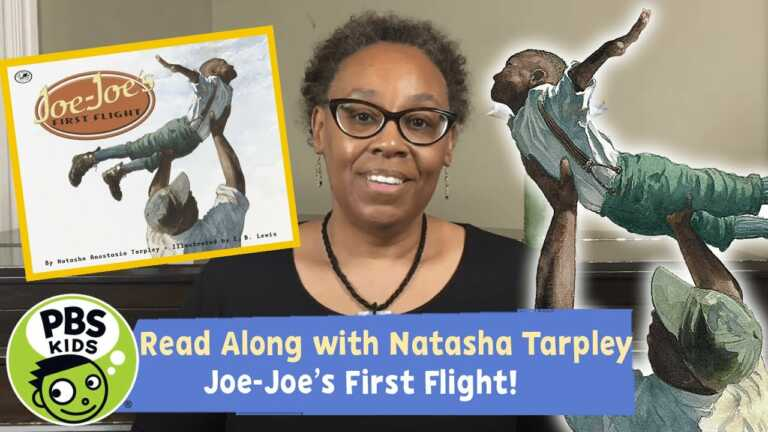 Joe-Joe's First Flight   READ ALONG with Natasha Tarpley!   PBS KIDS