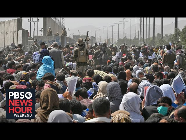 Afghans desperately try to flee; U.S. evacuation continues