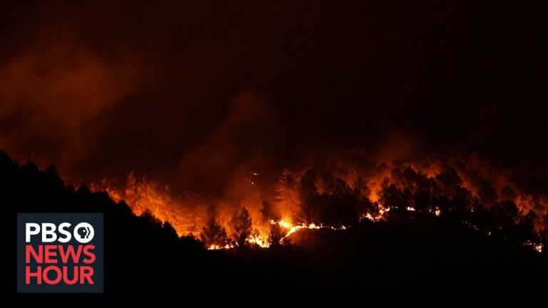 News Wrap: Record heat drives wildfires across Italy