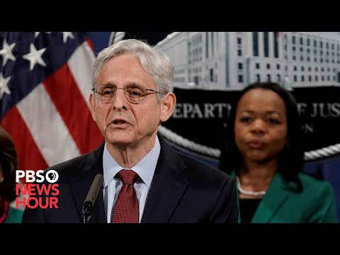 WATCH: AG Garland announces investigation into Phoenix Police department