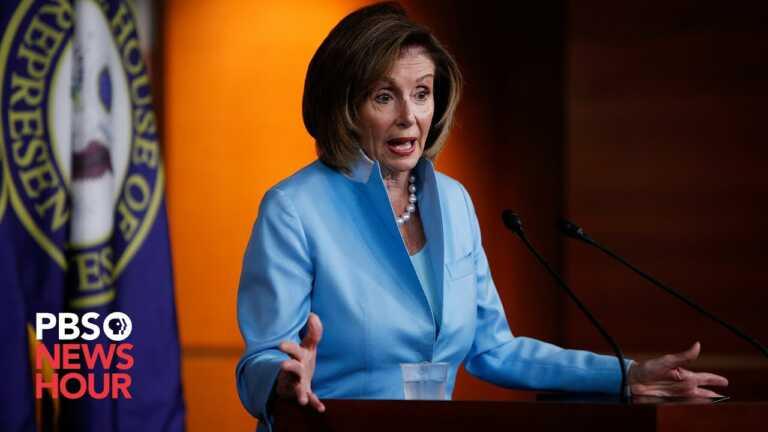 WATCH: Pelosi praises July jobs report