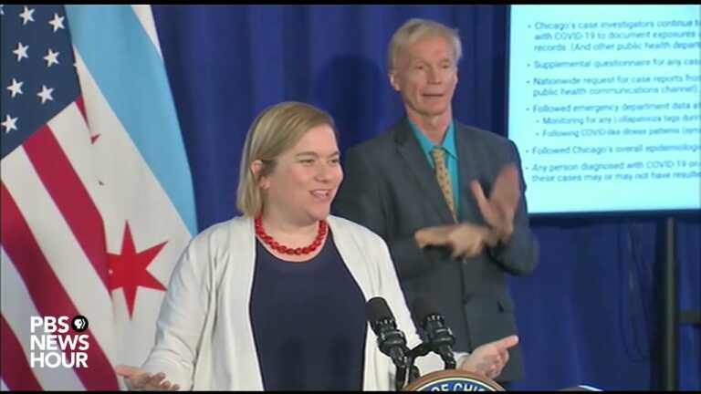 WATCH: Chicago officials provide update on COVID-19, Lollapalooza cases