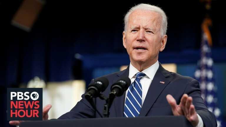 WATCH LIVE: Biden gives remarks on legislative agenda