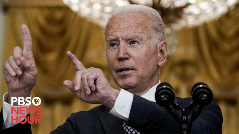 WATCH: Biden on plans to rescue Americans, Afghan allies in Kabul