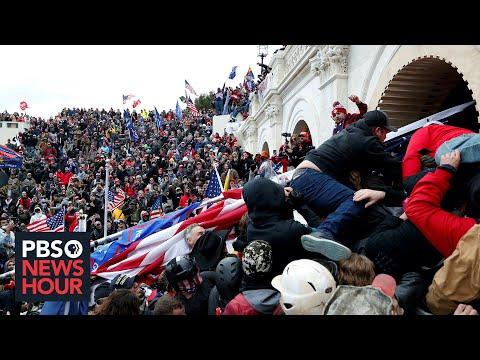 News Wrap: Capitol Police shooting of Jan. 6 rioter Ashli Babbitt found 'lawful'