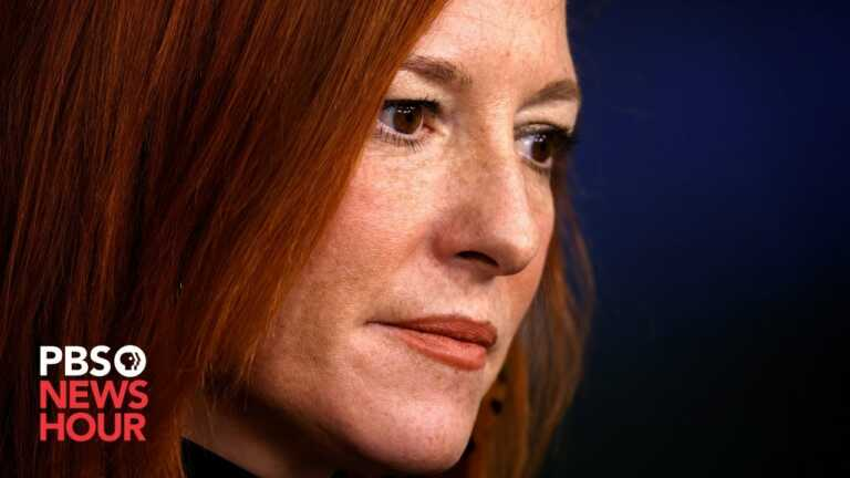 WATCH LIVE: Psaki gives White House news briefing alongside National Security Adviser Sullivan