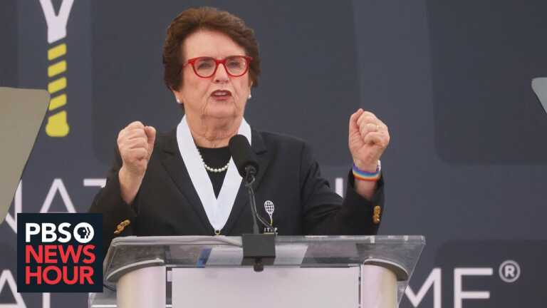 Billie Jean King reveals how a $1 contract shaped professional women's tennis