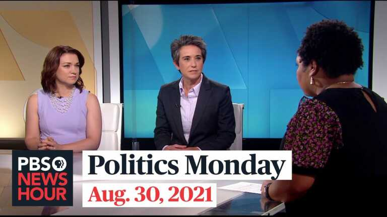 Tamara Keith and Amy Walter on Afghanistan exit, COVID-19