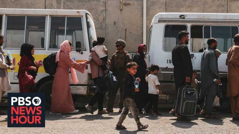 U.S. has no clear bureaucratic path for Afghan evacuees