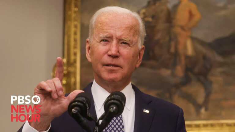 WATCH LIVE: Biden discusses measures to improve cybersecurity with Nat. Sec. team, business leaders
