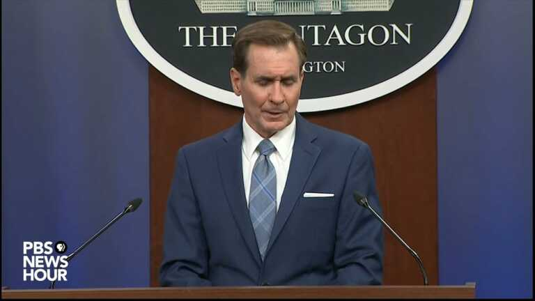 WATCH: Pentagon Press Sec.: U.S. will 'honor' its obligation to Afghans