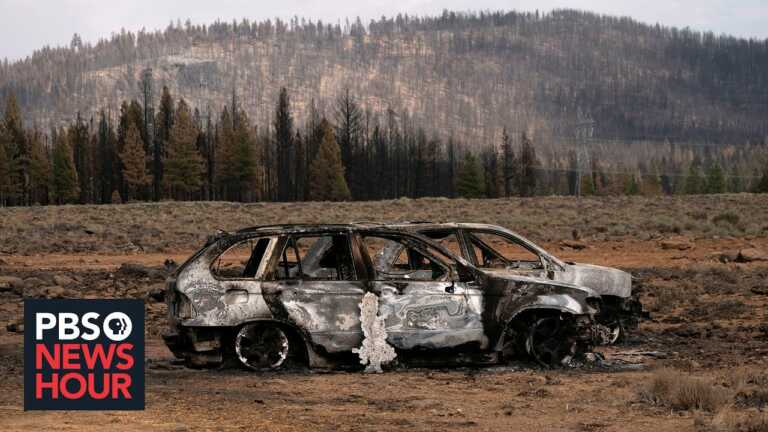 West U.S. wildfires are so extreme that they're creating lightning, fire whirls