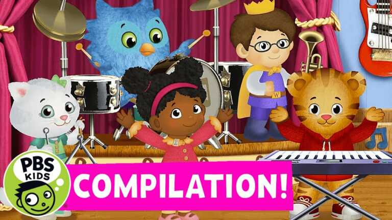Daniel Tiger Songs! Sing Along with Daniel and Friends 🐯 🎶  | Compilation | PBS KIDS