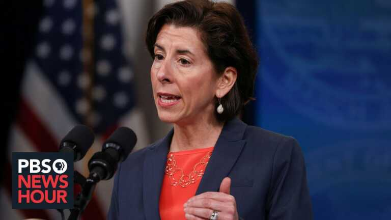 'America needs to catch up:' Sec. Raimondo on the pandemic's unequal toll on women