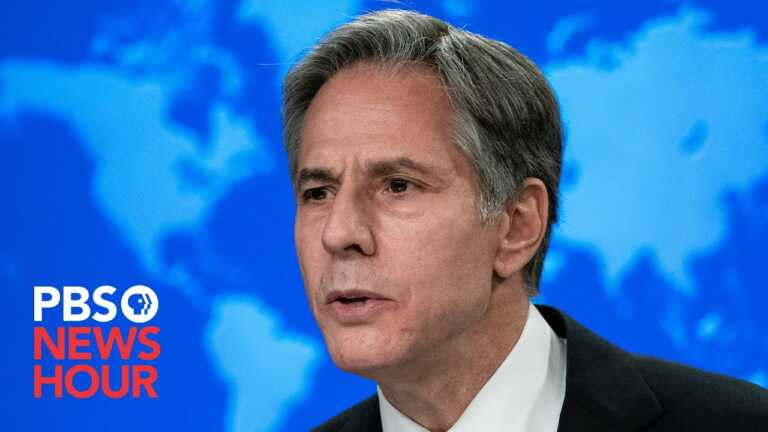 WATCH LIVE: Secretary of State Blinken delivers remarks on the situation in Afghanistan