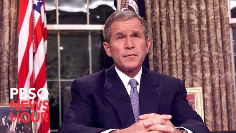 WATCH: President George W. Bush's address to the nation after September 11, 2001 attacks