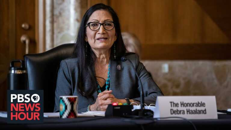 Sec. Haaland on the significance of Native American representation