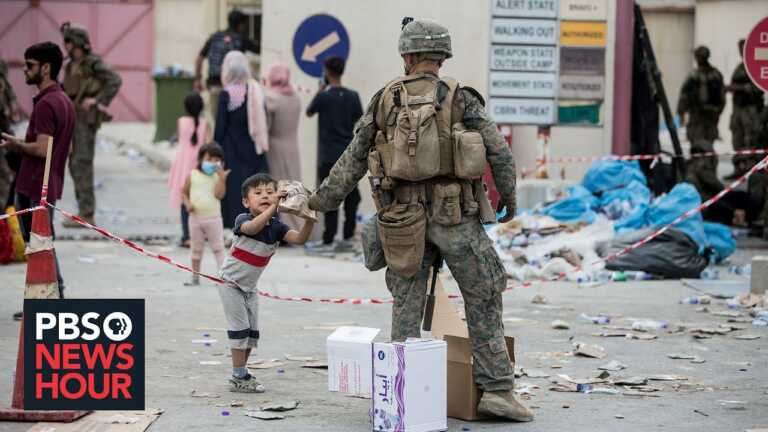 Afghan children left behind, go missing amid chaos at Kabul's airport