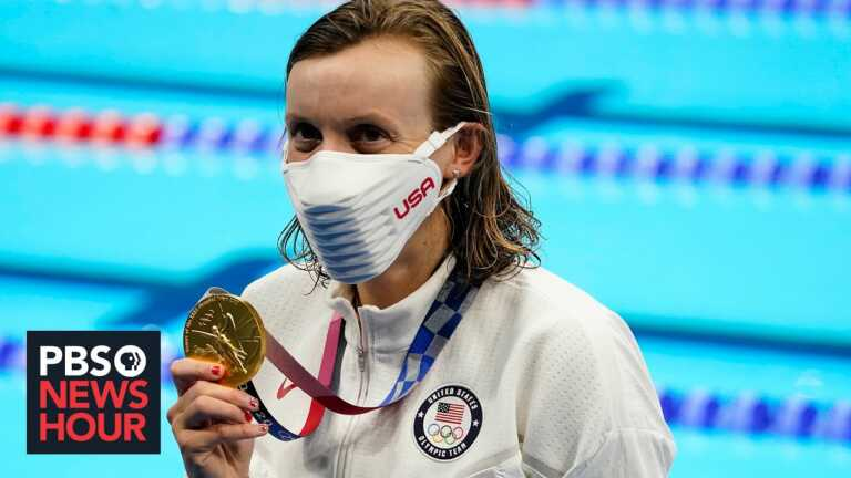 Katie Ledecky on her Tokyo wins, mental health and gender equality in sports
