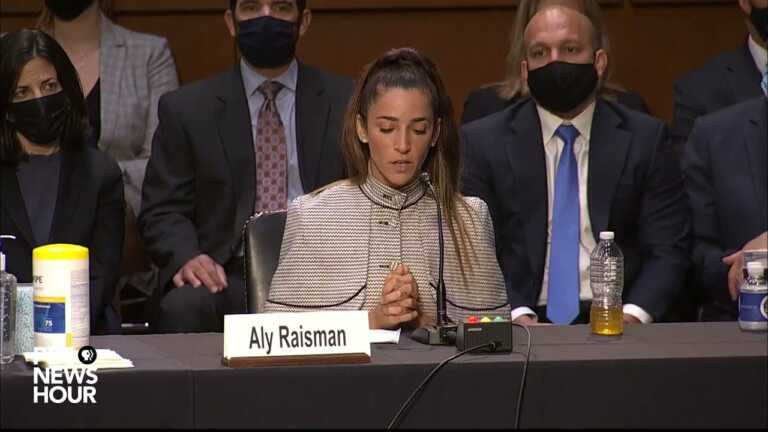 WATCH: 'I don't think people realize' how much abuse affects us, Aly Raisman says