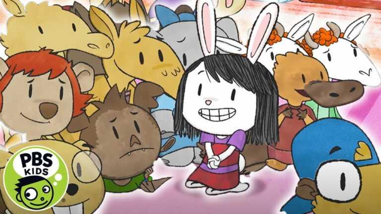 Elinor Wonders Why   Who is Disrupting Story Time?   PBS KIDS
