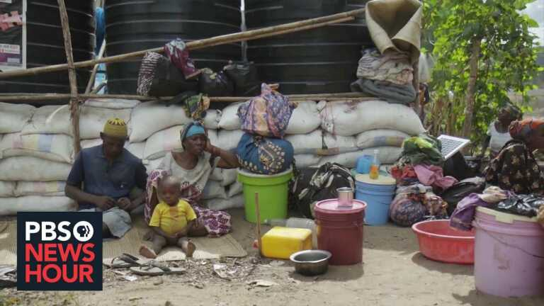 Mozambicans fleeing Islamic insurgents feel failed by government, forced into drug trade