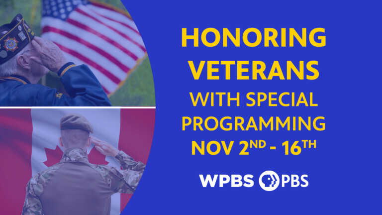 WPBS Honoring Veterans with Special Programming this November