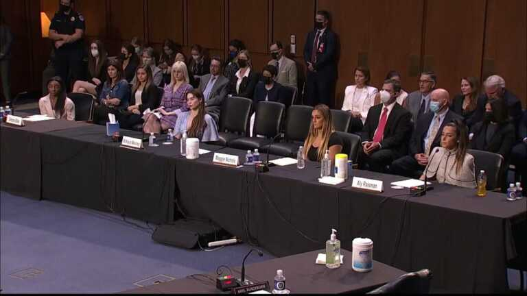 WATCH: Grassley asks survivors for input on how to protect young athletes