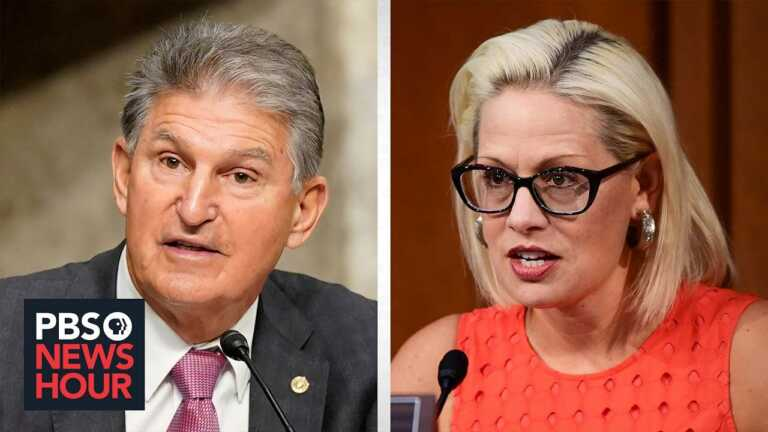 Why Manchin, Sinema are holding out on reconciliation, and how their constituents feel