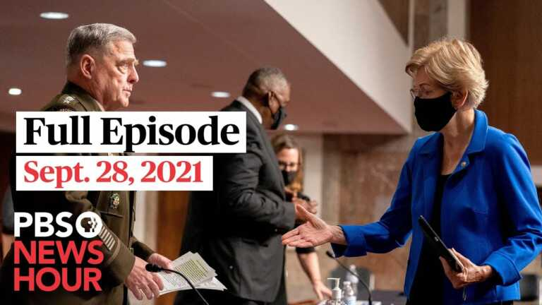 PBS NewsHour live episode, Sept. 28, 2021