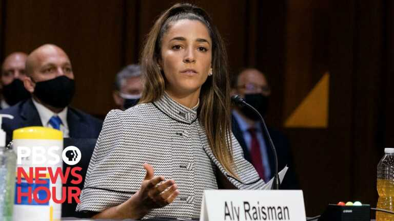 WATCH: FBI and others let 'Nassar to slip out the side door,' Raisman says
