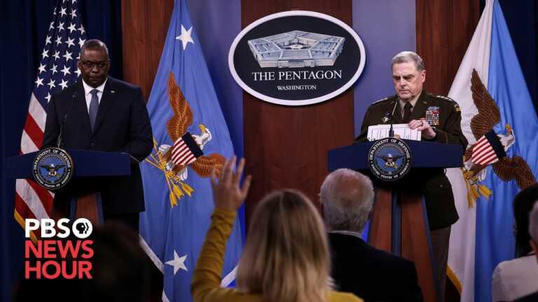 WATCH LIVE: Sec. Austin, Gen. Milley and Gen. McKenzie testify on Afghanistan withdrawal