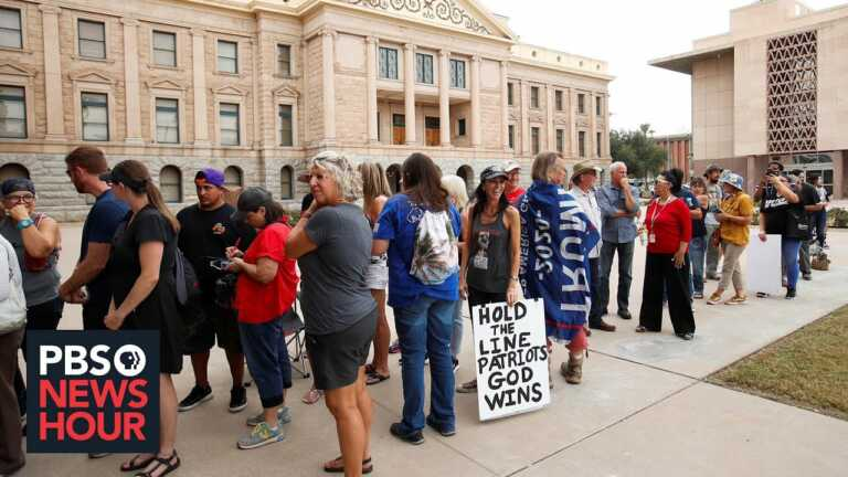 How Arizona's election review is providing a national playbook for disgruntled politicians