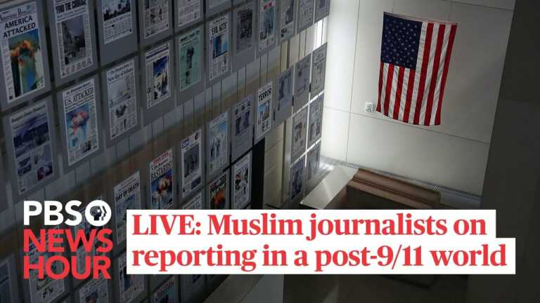 WATCH LIVE: 20 years on, Muslim journalists reflect on reporting in a post-9/11 world