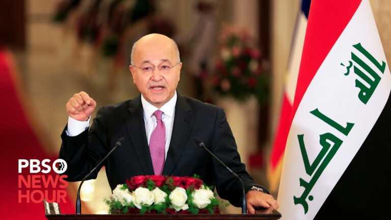 WATCH LIVE: Iraqi President Barham Salih speaks at 2021 U.N. General Assembly