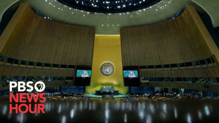 WATCH LIVE: 2021 United Nations General Assembly – Day 1
