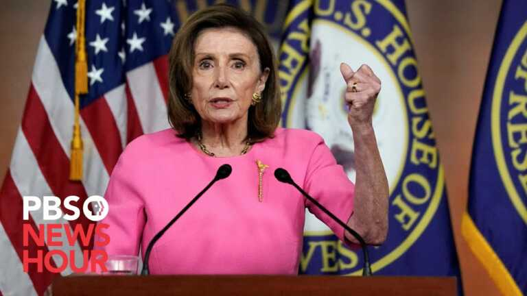 WATCH LIVE: Pelosi on 'Women's Health Protection Act' that protects abortion access
