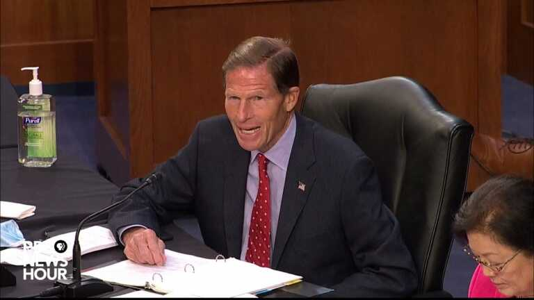 WATCH: Blumenthal says FBI's Wray should demand prosecution of agent who lied about Nassar case