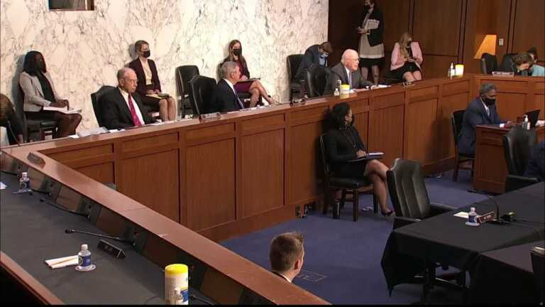 WATCH: Sen. Leahy asks survivors of Larry Nassar abuse what justice should look like