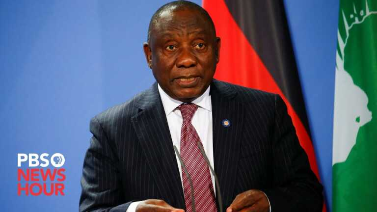WATCH LIVE: South African President Cyril Ramaphosa speaks at 2021 U.N. General Assembly