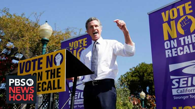 Despite concerns about voter enthusiasm, Newsom's fate looks good in California recall