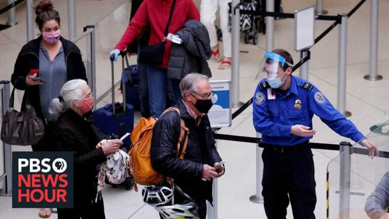 News Wrap: U.S. to ease restrictions on vaccinated foreign travelers in November