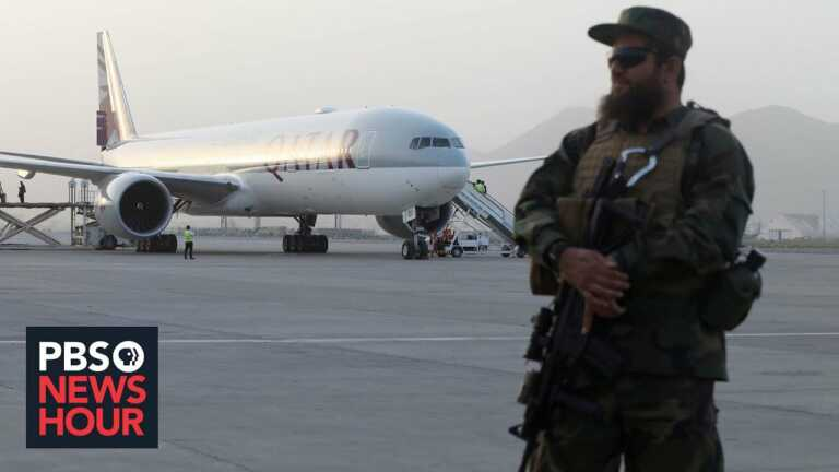 News Wrap: Taliban allows more people to leave Afghanistan including 19 Americans