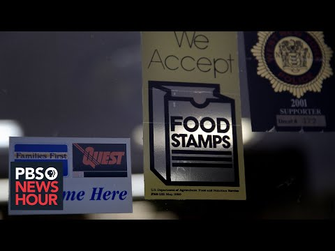 A look at the impact of the federal increase in food stamps, child tax credit