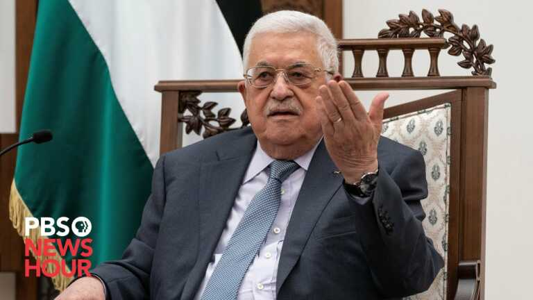 WATCH LIVE: Palestinian President Mahmoud Abbas speaks at 2021 U.N. General Assembly