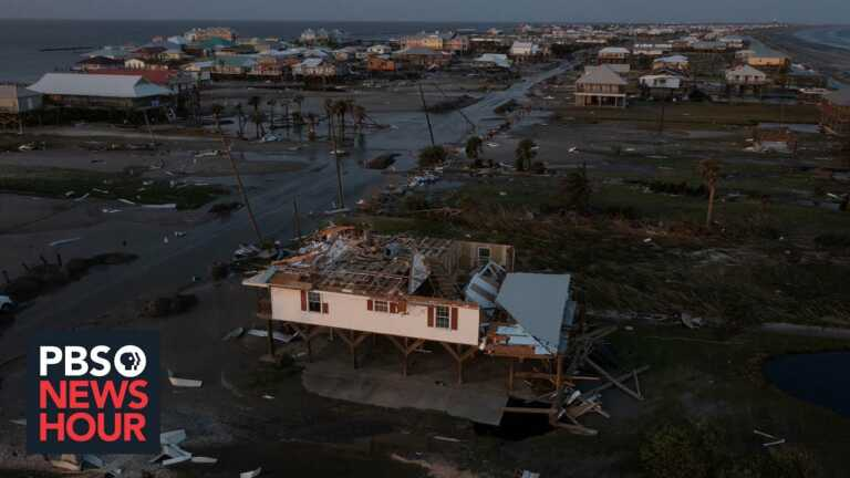 Louisiana's parishes feel 'forgotten' in the dark weeks after Hurricane Ida