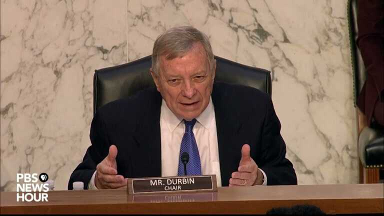 WATCH: Durbin questions FBI's Wray about handling of Nassar abuse investigation
