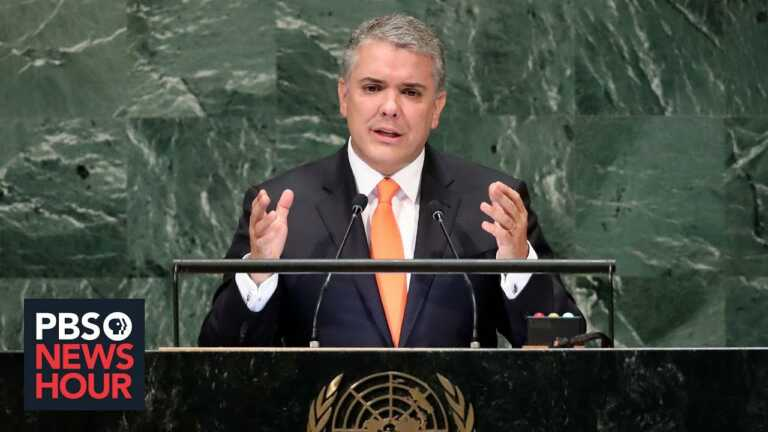 Colombia's President Duque on environmental terrorism, migration and democracy