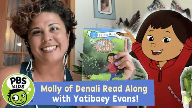 Molly of Denali's Berry Itchy Day   READ ALONG with Yatibaey Evans   PBS KIDS