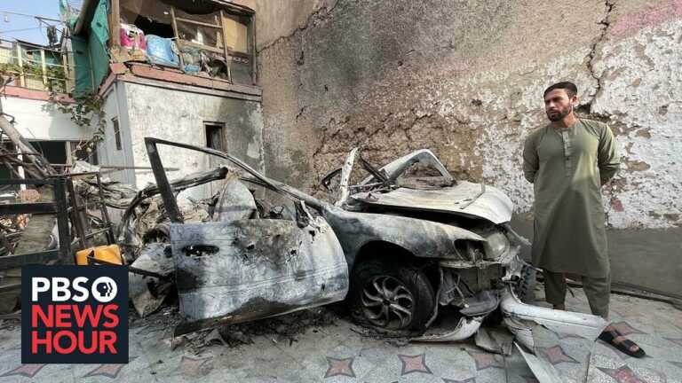 Pentagon admits error in U.S. drone strike that killed 10 civilians in Afghanistan